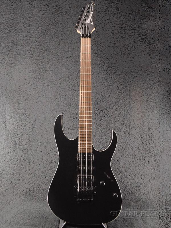 Ibanez RG370ZB Weathered Black 新品[アイバニーズ][ブラック,黒][Stratocaster,ストラトキャスタータイプ][Electric Guitar,エレキギター]