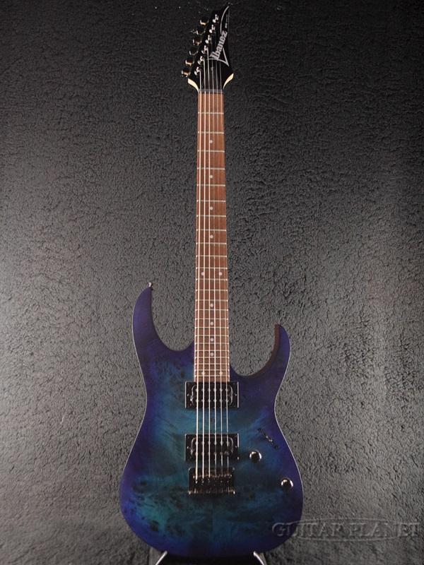 Ibanez RG421PB-Sapphire Blue Flat -2018NEWモデル!!- 新品[アイバニーズ][RGシリーズ][サファイアブルーフラット,青][Stratocaster,ストラトキャスタータイプ][Electric Guitar,エレキギター]