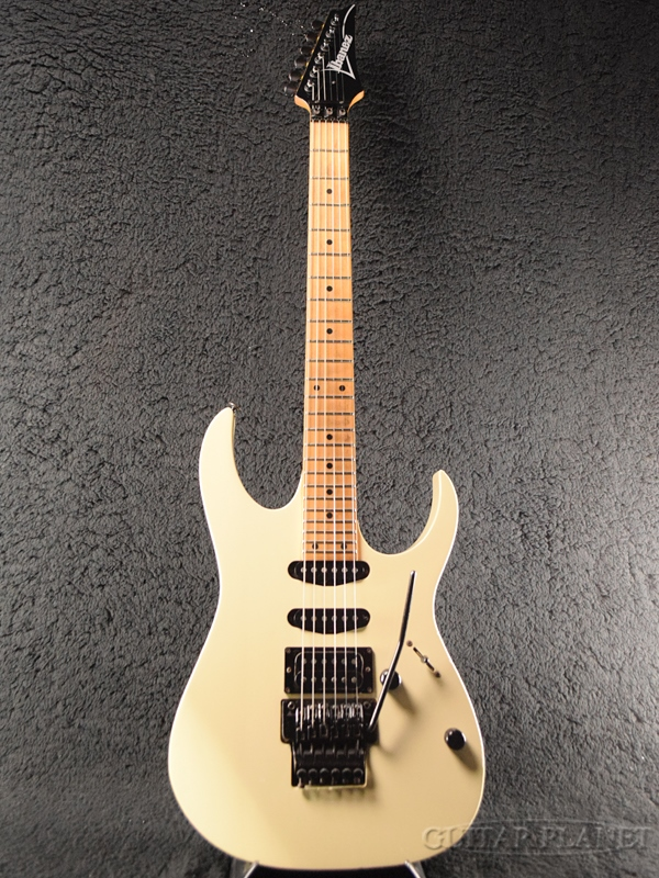 【中古】Ibanez RG560 -WH/M (White)- 1987年製[アイバニーズ][RGシリーズ][ホワイト,白][Stratocaster,ストラトキャスタータイプ][Electric Guitar,エレキギター]【used_エレキギター】