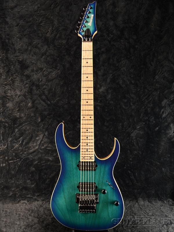 【チョイキズ特価!!】Ibanez Prestage RG652AHM Nebula Green Burst 新品[アイバニーズ][プレステージ][RGシリーズ][グリーン,ブルー,青][Stratocaster,ストラトキャスタータイプ][Electric Guitar,エレキギター]