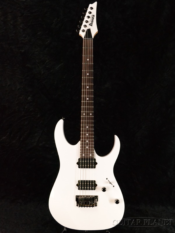Ibanez Prestige Prestige RG652FX White 新品[アイバニーズ][RGシリーズ][プレステージ][ホワイト,白][Stratocaster,ストラトキャスタータイプ][Electric Guitar,エレキギター]