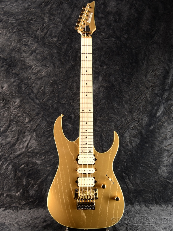 【限定モデル】Ibanez Prestige RG657AHM-GDF 新品[アイバニーズ][Gold,ゴールド,金][Electric Guitar,エレキギター]