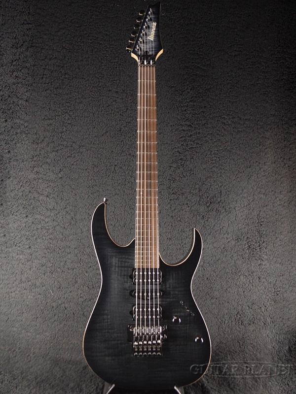 Ibanez J.custom RG7570 -Black Rutule- 新品[アイバニーズ][Jカスタム][RGシリーズ][ブラック,黒][Stratocaster,ストラトキャスタータイプ][Electric Guitar,エレキギター]