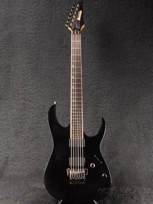 【中古】Ibanez J.Custom RG8320 -Biker's Black- 2006年製[アイバニーズ][Jカスタム][RGシリーズ][Stratocaster,ストラトキャスタータイプ][バイカーズブラック,黒][Electric Guitar,エレキギター]【used_エレキギター】