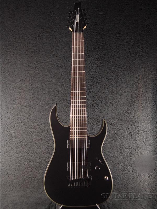 【アウトレット特価】Ibanez RGIR38BFE-IRON LABEL- 新品[アイバニーズ][RGシリーズ][Black,ブラック,黒][8strings,8弦][Stratocaster,ストラトキャスタータイプ][Electric Guitar,エレキギター]