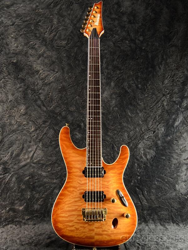 【中古】Ibanez Prestige S5521Q -Wild Pilsner Burst (WPB)- 2014年製[アイバニーズ][Sシリーズ][ワイルドピルスナーバースト][Stratocaster,ストラトキャスタータイプ][Electric Guitar,エレキギター]【used_エレキギター】