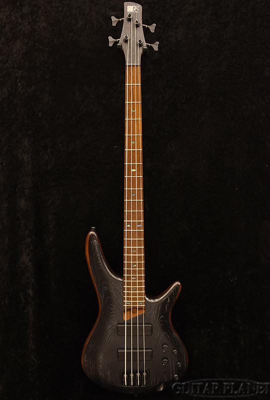 Ibanez SR670 -Silver Wave Black Flat- 新品[アイバニーズ][シルバーウェーブブラックフラット,黒][Electric Bass,エレキベース]