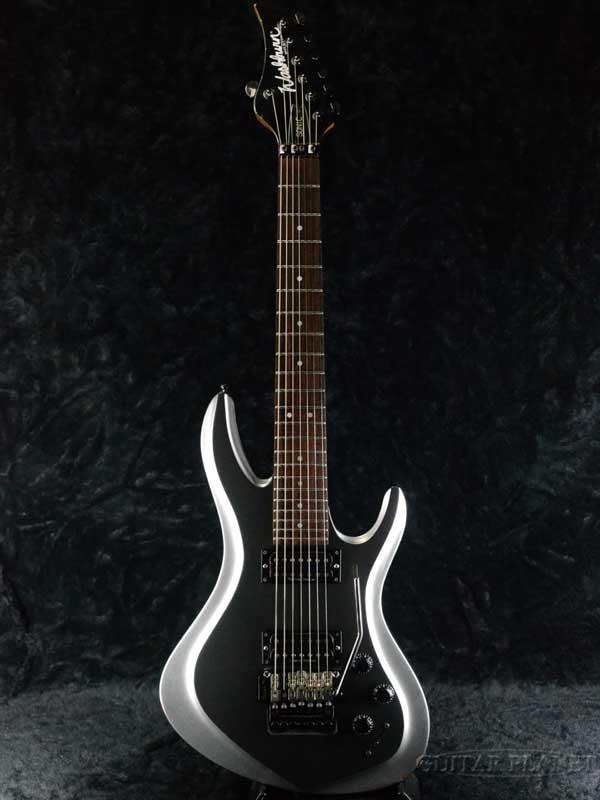 【中古】Washburn USA Sonic 7 S7V HM 2000年製 [ワッシュバーン][Silver,銀][7strings,7弦][Electric Guitar,エレキギター]【used_エレキギター】
