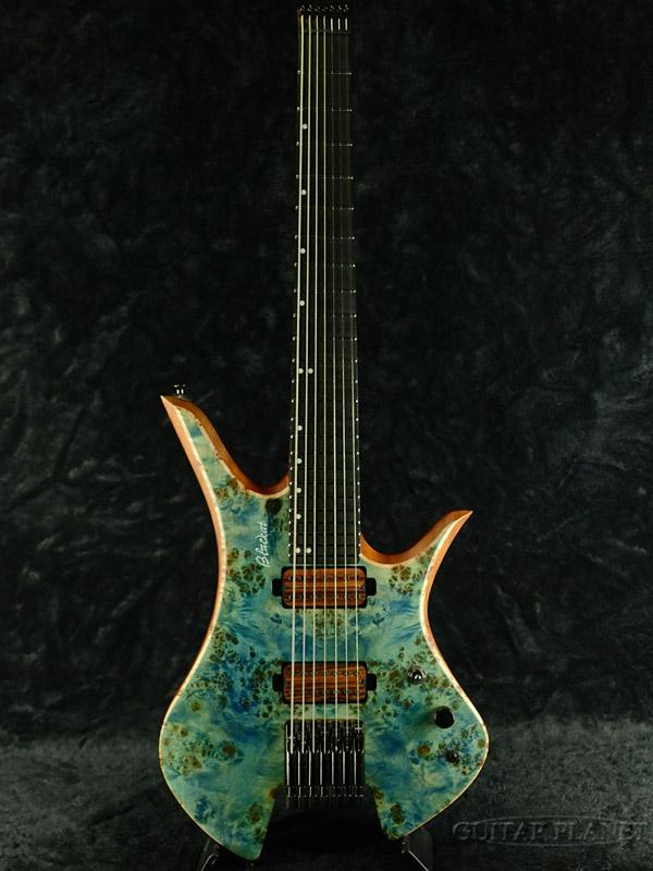 【中古】Blackat HDA 7 -Light Blue- 2019年製 [ブラックキャット][ライトブルー,青][7strings,7弦][Electric Guitar,エレキギター]【used_エレキギター】