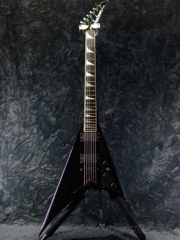 【中古】Jackson Randy Rhoads EMG Modify -BLK- 1992年製[ジャクソン][黒][ランディ・ローズ][Flying V,フライングVタイプ][Electric Guitar,エレキギター]【used_エレキギター】