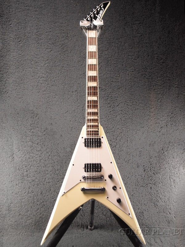 Jackson X Series KVXT Scott Ian Signature -Ivory- 新品[ジャクソン][Xシリーズ][Flying V,フライングV][アイボリー,白][Electric Guitar,エレキギター]
