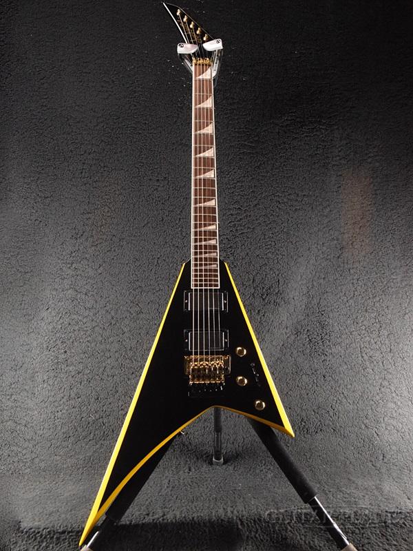 Jackson RRX24 -Black with Yellow Bevels- 新品[ジャクソン][ブラックウィズイエローベベルス,Black,黒][ランディローズ,ランディV][エレキギター,Electric Guitar]