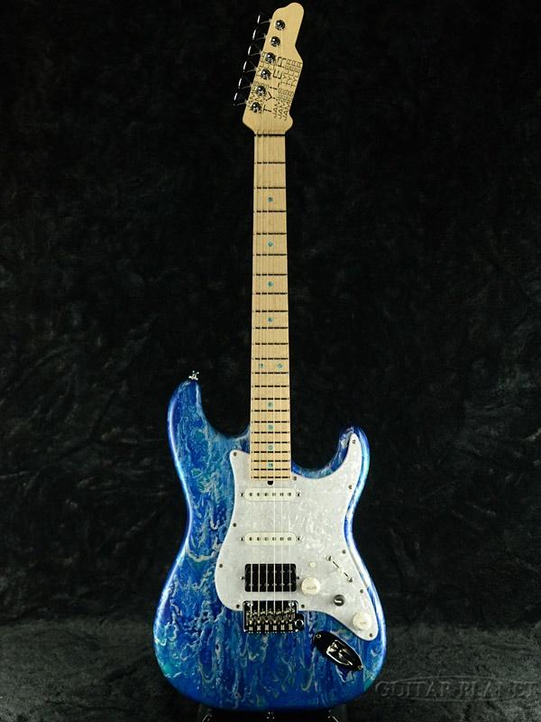 【当店カスタムオーダー品】James Tyler Japan LA Studio Classic -Blue Opal Shmear- 新品[ジェームスタイラー][ブルーオーパルシュマー,青][Electric Guitar,エレキギター]