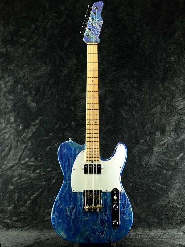 James Tyler Japan Tylerbaster -Blue Opal Shmear- 新品[ジェームスタイラー][Telecaster,テレキャスター][ブルー,青][Electric Guitar,エレキギター]