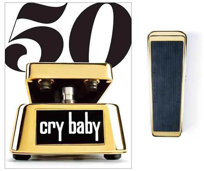 【50周年モデル】Jim Dunlop GCB-95G CryBaby WAH PEDAL 新品[ジムダンロップ][24金メッキ仕様][クライベイビー][ワウペダル][エフェクター,Effector][GCB95G]_wpdl