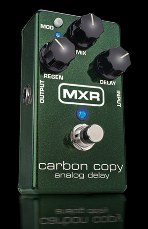 MXR carbon copy analog delay M-169 新品 アナログディレイ[カーボンコピー][エフェクター,Effector]_cde