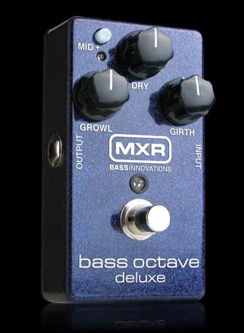 MXR Bass Octave Deluxe M-288 新品[ベースオクターブ][エフェクター,Effector]_bass