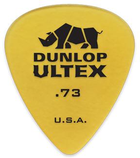 Jim Dunlop 421 Ultex Standard 0.73mm[健身房邓禄普][乌尔纺绩品][泪珠][Pick,选取]