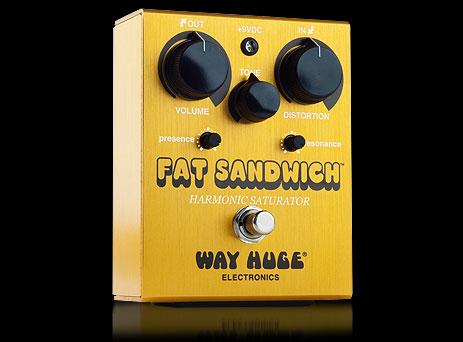 WAY HUGE FAT SANDWICH/Harmonic Saturator Distortion WHE-301 新品[ウェイヒュージ][ファットサンドウィッチ][ディストーション][エフェクター,Effector][WHE301]