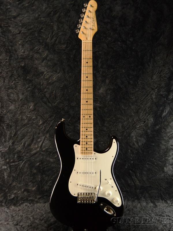 【中古】JWB Guitars JWB-S -Black/Maple- 2015年製【J.W.Black氏製作】[J.W.Black,ブラック][Stratocaster,ストラトキャスタータイプ][Relic,Aged,レリック,エイジド,黒][Electric Guitar,エレキギター]