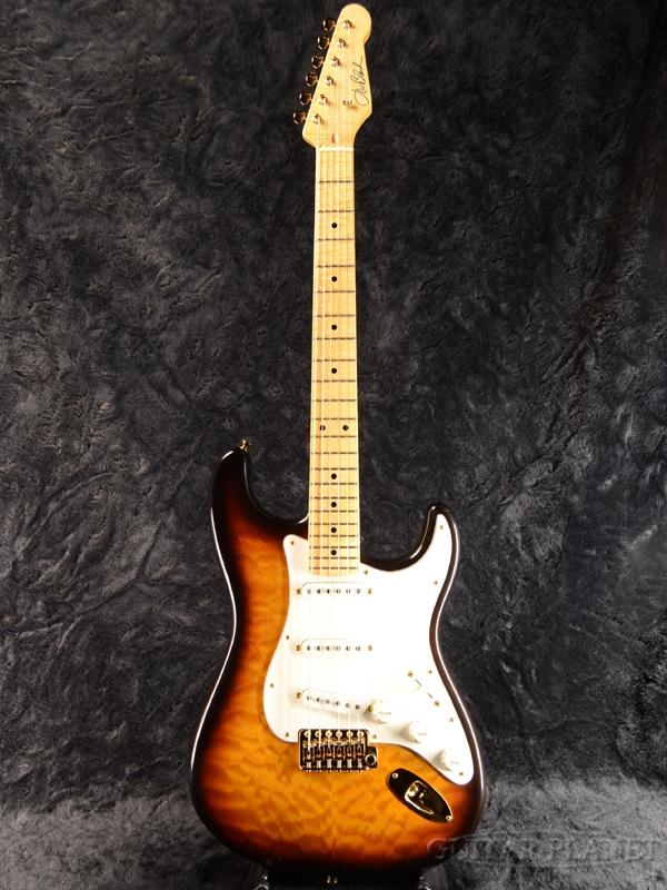 JWB Guitars JWB-S FMT -2 Tone Sunburst- 新品[J.W.Black,ブラック][Stratocaster,ストラトキャスタータイプ][サンバースト][Electric Guitar,エレキギター]