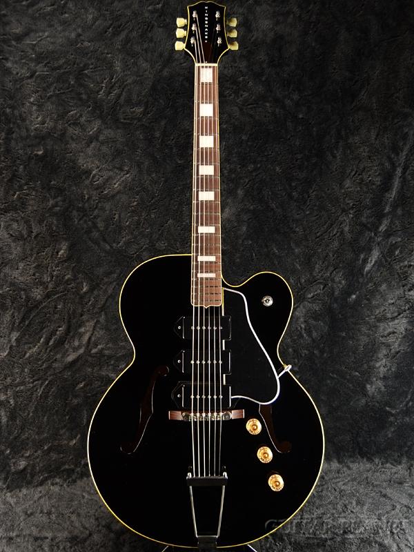 【サウンドメッセ2018出展モデル】KING SNAKE Three Bone T ''Black'' #THBT-003 新品[キングスネーク][スリーボーン][ブラック,黒][セミアコ/フルアコ][Electric Guitar,エレキギター]