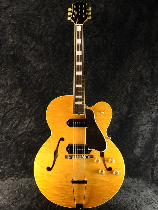 KING SNAKE Two Bone -Amber Natural- #TB-014【3.01kg】 新品[キングスネーク][2ボーン][アンバーナチュラル,木目][セミアコ/フルアコ][Electric Guitar,エレキギター]