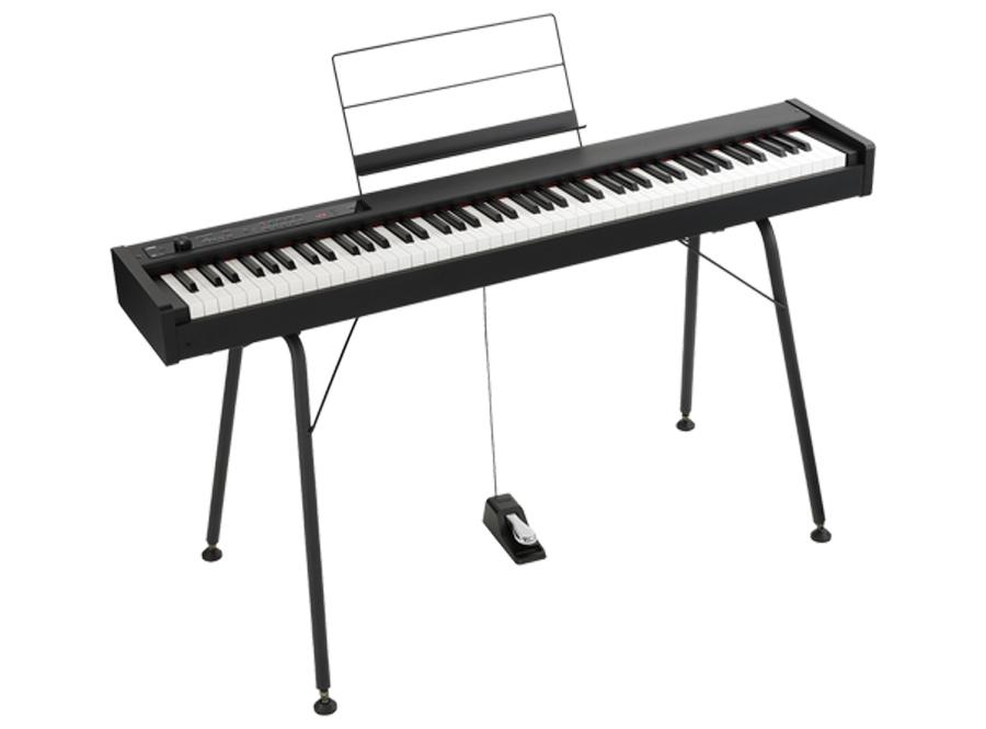 【純正スタンド/ST-SV1-BK付】KORG D1 Digital Piano 新品 デジタルピアノ[コルグ][88鍵盤][ブラック,黒][Keyboard,キーボード]
