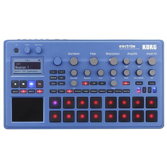 KORG electribe ELECTRIBE2-BL 新品 シーケンサー[コルグ][エレクトライブ2][Blue,ブルー,青][ミュージックプロダクションステーション][Sequencer]
