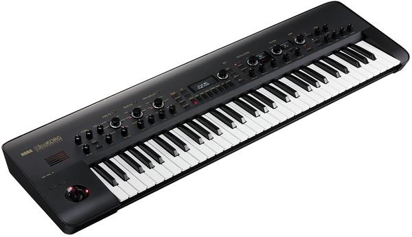 Synthesizer KORG KingKORG-BK new 61 keyboard synthesizer [Korg], [King Korg] [Black, black, Black] [61 Keys] [Keyboard, keyboard]