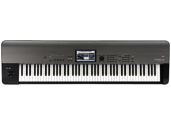 KORG KROME EX 新品 88鍵盤 シンセサイザー[コルグ][クローム][88Keys][電子ピアノ][Synthesizer,シンセサイザー][Keyboard,キーボード]
