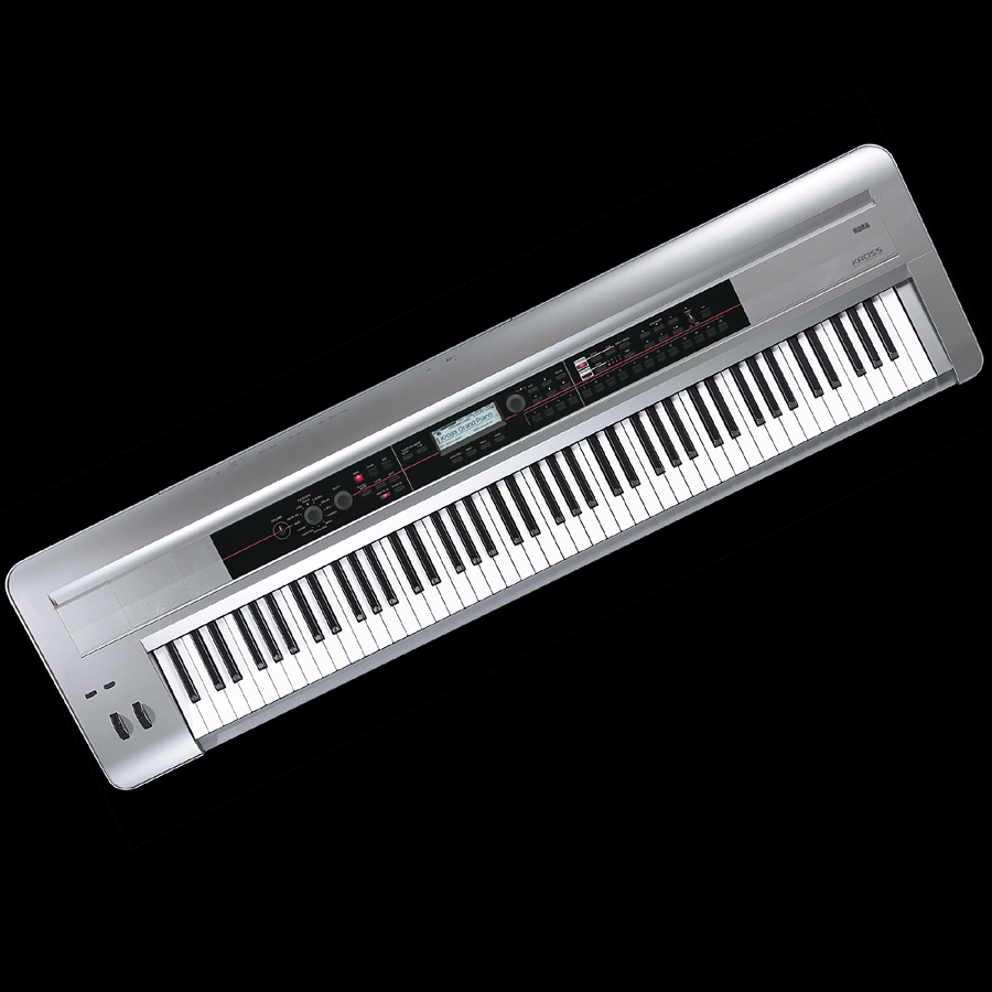 KORG KROSS-88-PT 全新的 88 键音乐工作站 [Korg] 和 [KROSS88] 铂金、 白金 88 键,合成器,合成器