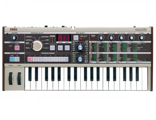 KORG microKORG 新品 37鍵盤[マイクロコルグ][アナログシンセ][ボコーダー][37key]