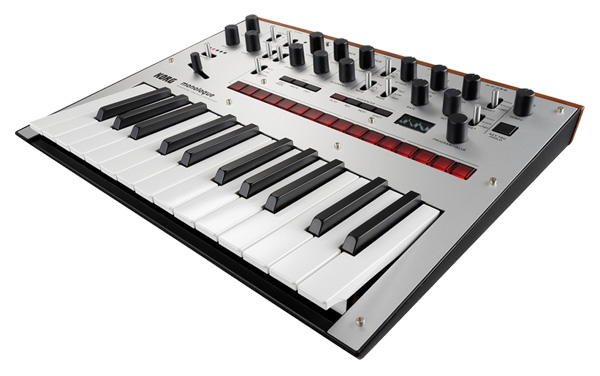 KORG monologue Monophonic Analogue Synthesizer 新品 シルバー[コルグ][モノフォニック,モノラル][モノローグ][Silver,銀][アナログシンセサイザー][Keyboard,キーボード][動画]