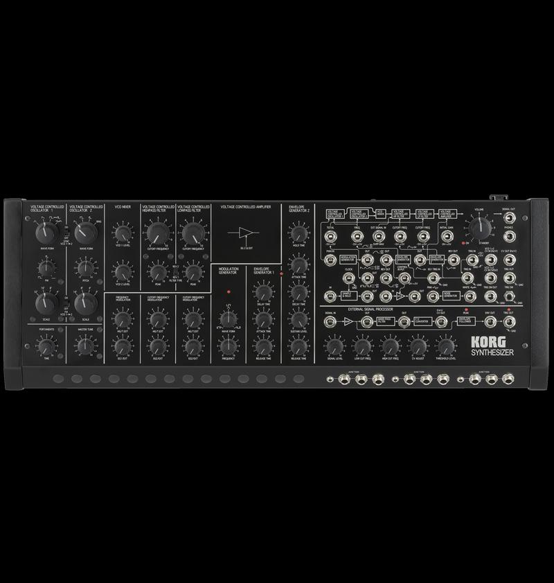 KORG 女士 20 万套件 + SQ 1 全新模拟合成器 [Korg],[MS20M],[包括的音序器],[模拟建模合成器]