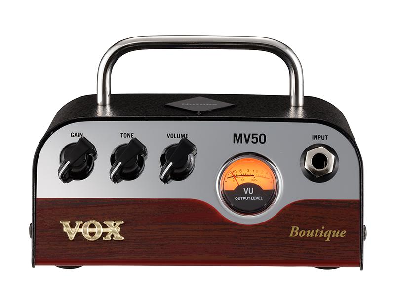 VOX MV50-BQ Boutique 新品 Nutube搭載ヘッドアンプ [ヴォックス,ボックス][ニューチューブ][ブティック][Guitar Amplifier Head,ギターアンプヘッド][MV50]