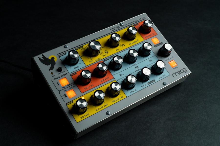 Moog Sirin Analog Synthesizer 新品 アナログシンセサイザー[モーグ][Moogerfooger][シリン][Synthesizer,シンセサイザー]