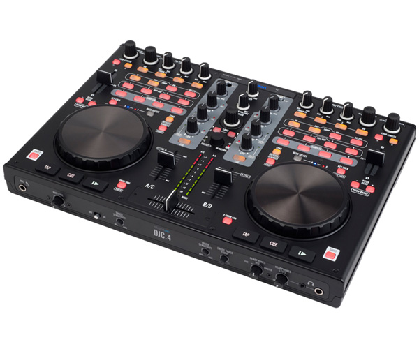 guitar planet stanton djc 4 brand new digital dj controller stanton dj mixer turntable audio. Black Bedroom Furniture Sets. Home Design Ideas