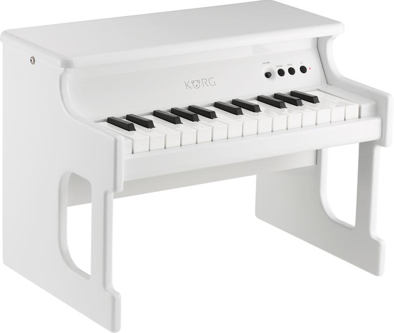 KORG tinyPIANO デジタルトイピアノ 新品 ホワイト[コルグ][タイニーピアノ][White,白][Digital Toy Piano]