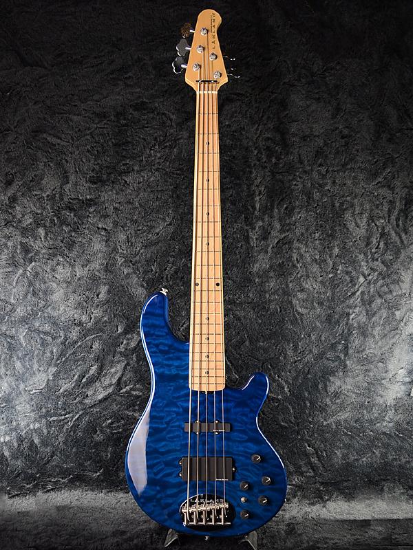 Lakland SK-5 Deluxe T.Blue/M 新品 5弦ベース SK-5DX[レイクランド][Skyline,スカイライン][デラックス][5-string][ブルー,青][エレキベース,Electric Bass]