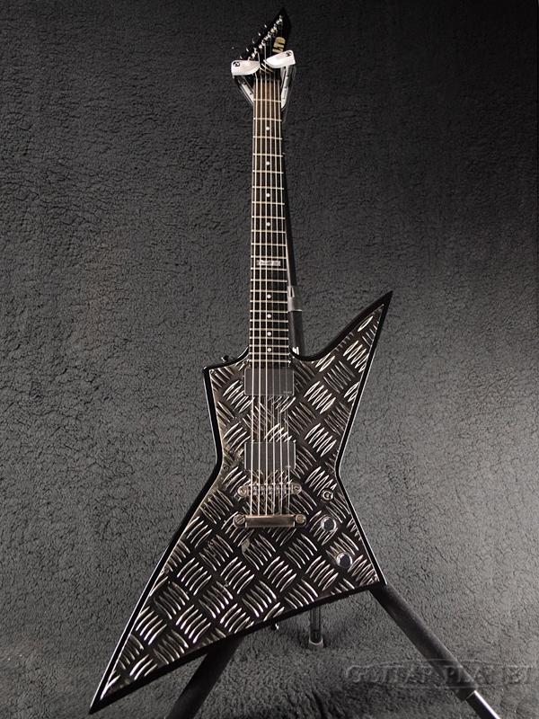 【中古】LTD EX-400BD -BD- 2008年製[ESPブランド][ブラック,黒][Explorer,エクスプローラータイプ][Electric Guitar][EX400BD]【used_エレキギター】
