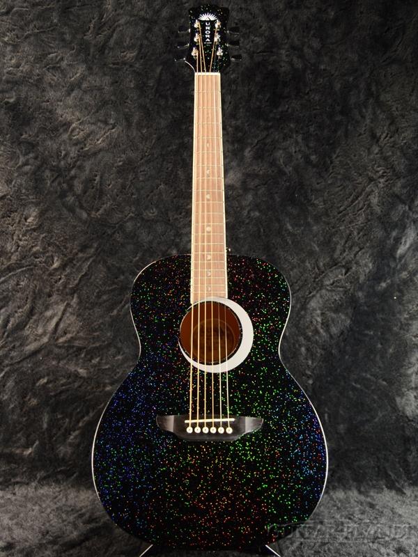 4d53f2eb91 Luna Guitars Aurora Borealis 3/4 Guitar Black Pearl new article [luna  guitars] ...