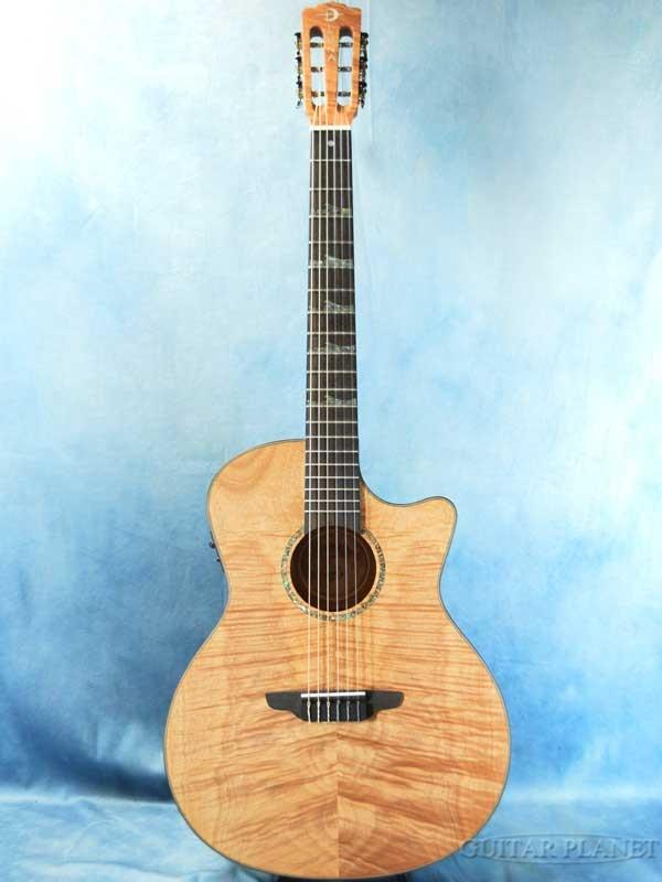 Luna Guitars High Tide Exotic Mahogany Nylon A/E 新品[ルナギターズ][Natural,ナチュラル][エキゾチックマホガニー][ナイロン,エレガット][Classical Guitar,クラシックギター]