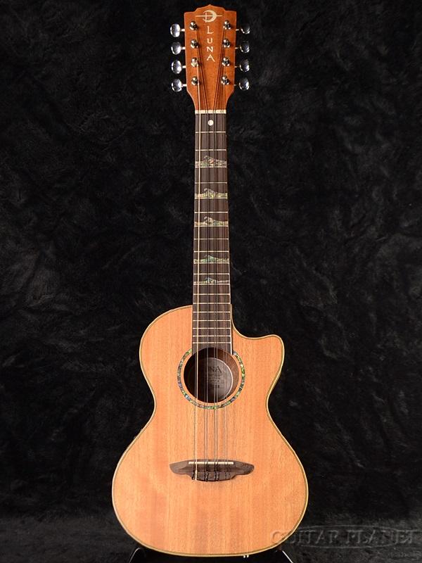 Luna Guitars UKE HTT 8 新品 8弦ウクレレ[ルナ][Mahogany,マホガニー][Tenor Ukulele,テナーウクレレ]