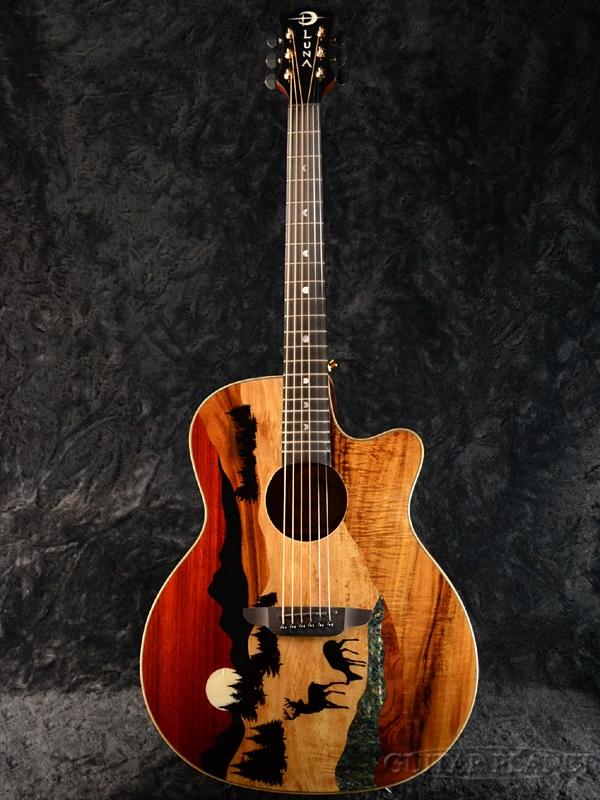 61389f8b25 Luna Guitars Vista Deer Tropical Wood A/E new article [luna] [natural ...