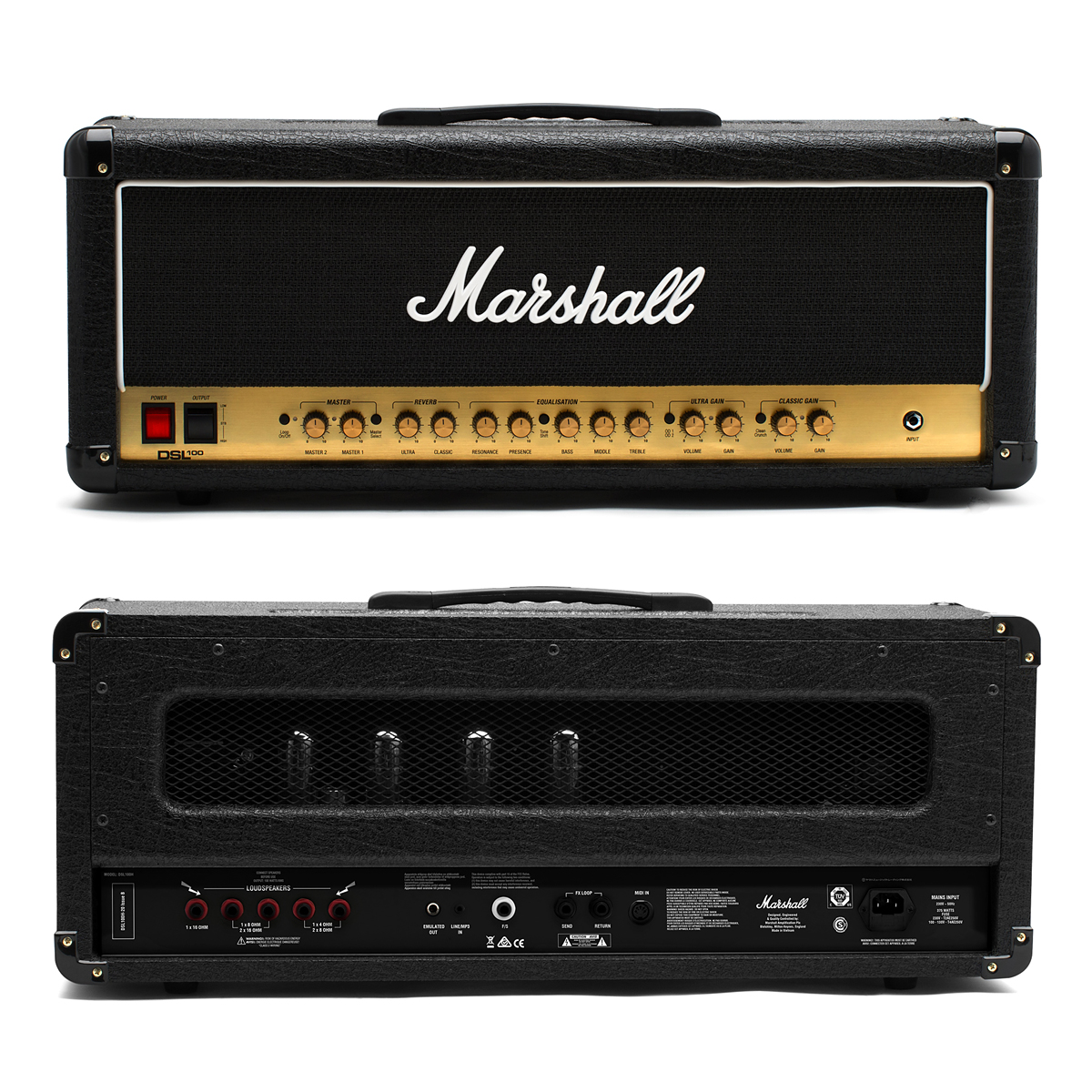 【100W】Marshall DSL100HR 新品 ギターアンプヘッド[マーシャル][Guitar Amplifier Head]