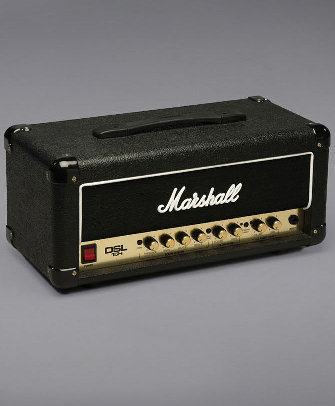 【15W】Marshall DSL15H 新品 ギターアンプヘッド[マーシャル][Guitar Amplifier Head]