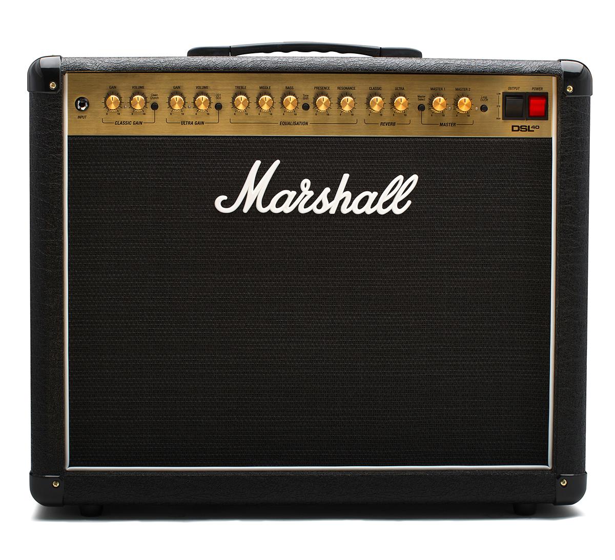 【40W/20W】Marshall DSL40C 新品 ギターコンボアンプ[マーシャル][MIDI機能][Guitar Amplifier Combo]