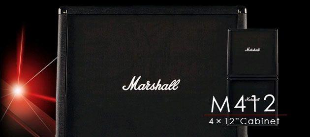 【入荷待ち】【300W】Marshall M412B 新品[マーシャル][ギターアンプキャビネット,Guitar Amplifier Cabinet]