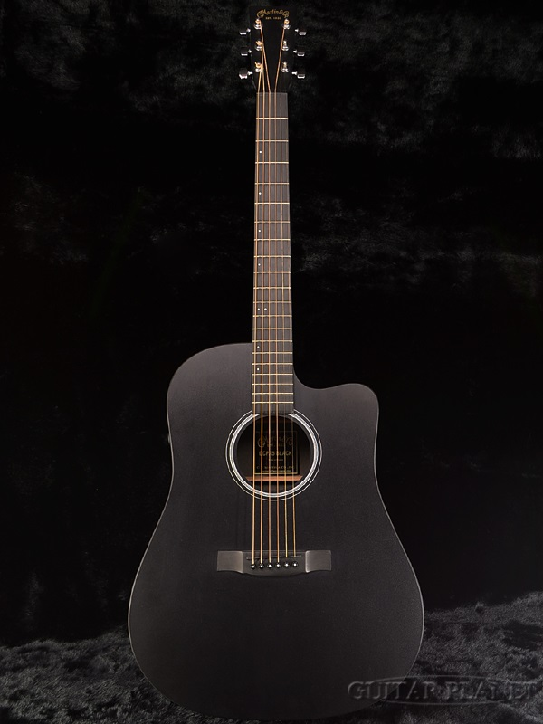 guitar planet martin dcpa5 black brand new martin black black electric acoustic guitar. Black Bedroom Furniture Sets. Home Design Ideas